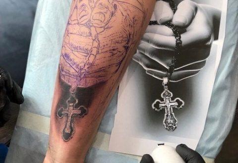 Процесс рождения татуировки