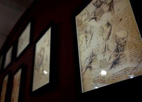 Картины в тату салоне