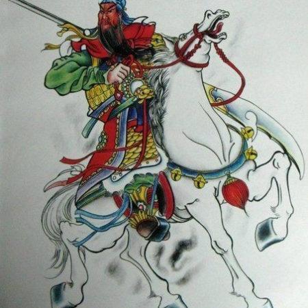 Эскиз татуировки в китайском стиле