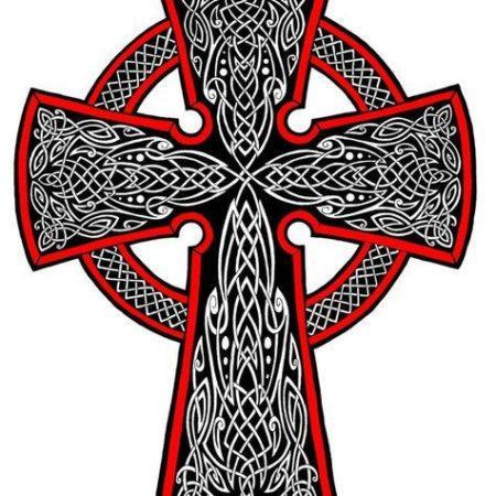 Эскиз татуировки в кельтском стиле